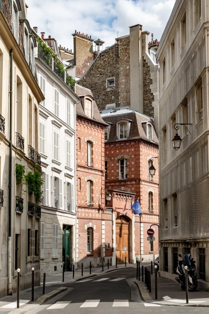 Paris in August: Empty Street Il de la Cite