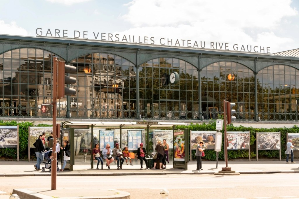 Visiting Versailles from Paris: Train Station