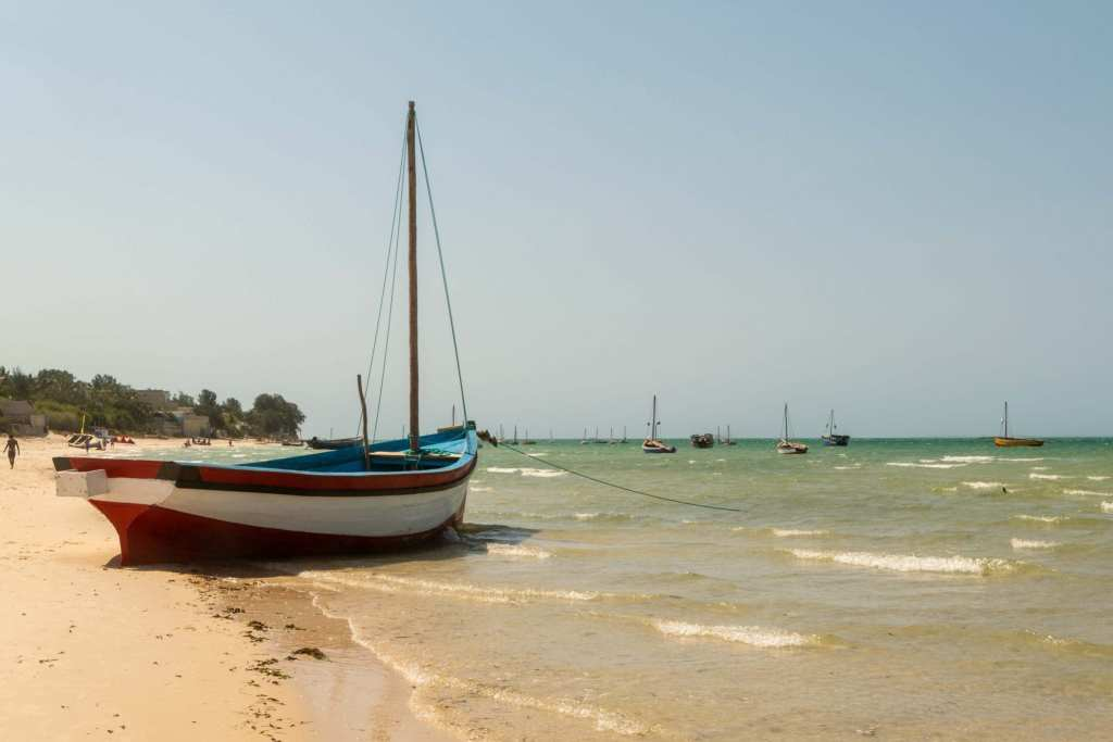 Sailboat in Vilanculos Mozambique
