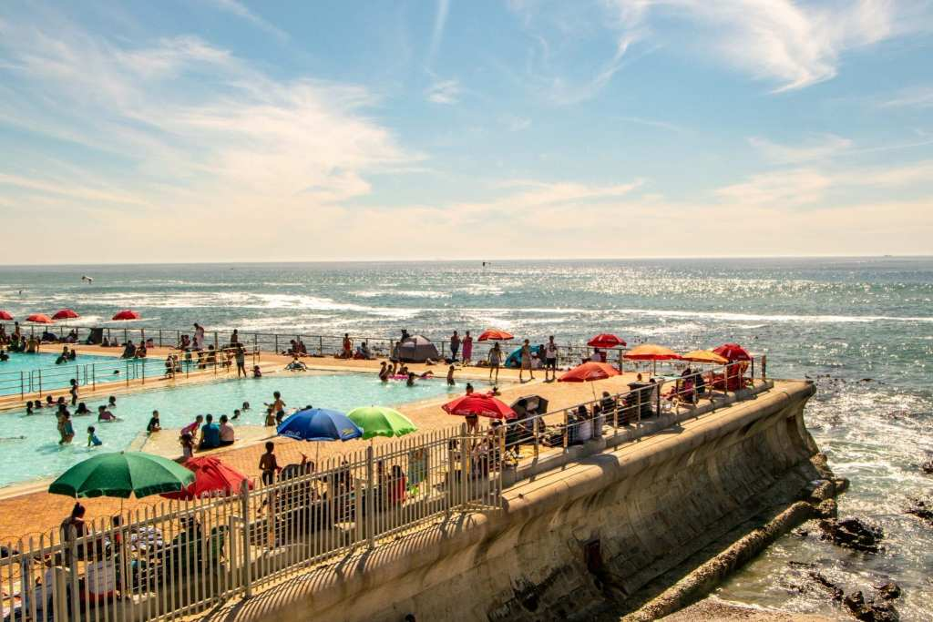 Packing List for South Africa: Public Pool at Sea Point