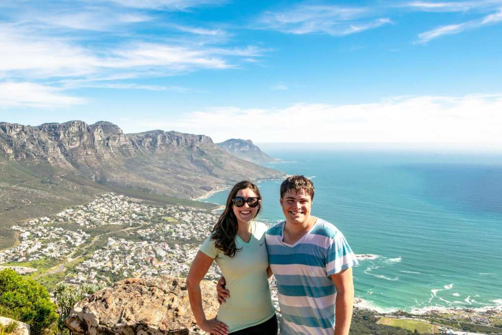 Packing List for South Africa: Couple on Lion's Head