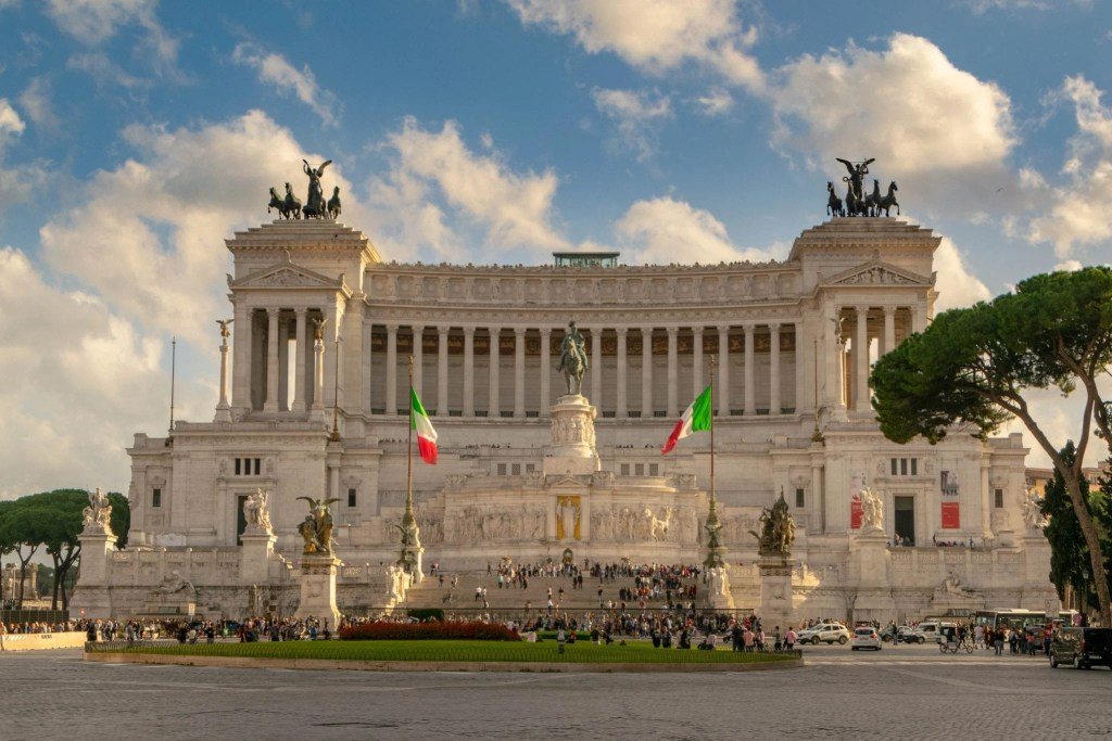 Photo of the Altar of the Fatherland in Rome