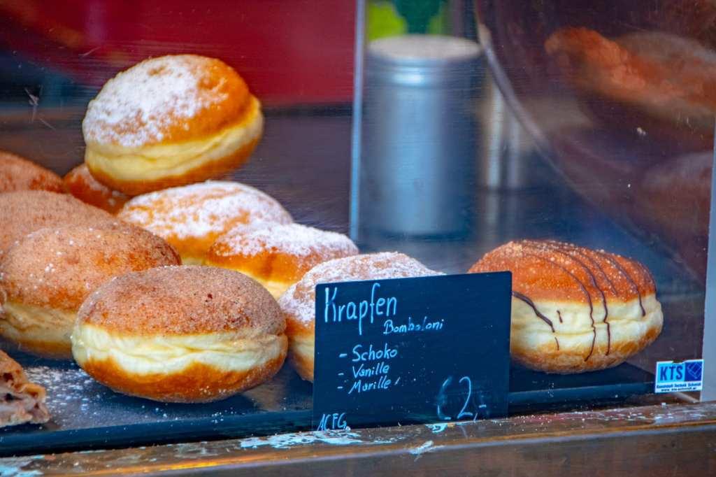Austria Christmas Market Trip: Krapfen