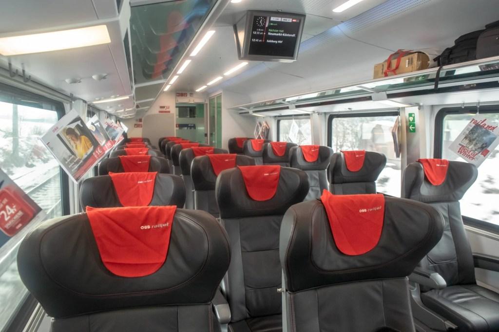 Vienna to Cesky Krumlov: Train Ride