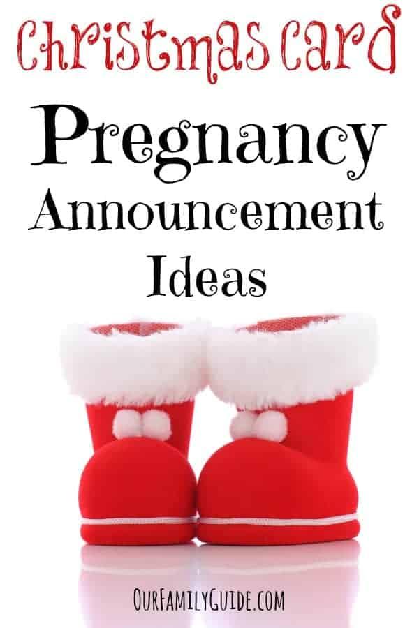 Christmas Card Pregnancy Announcement Ideas Our Family World