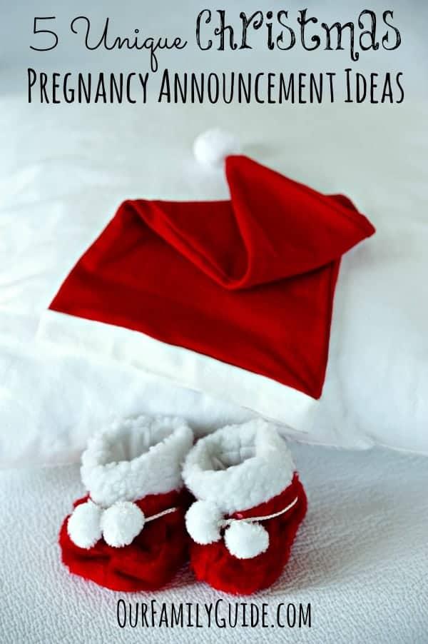 5 Unique Christmas Pregnancy Announcement Ideas