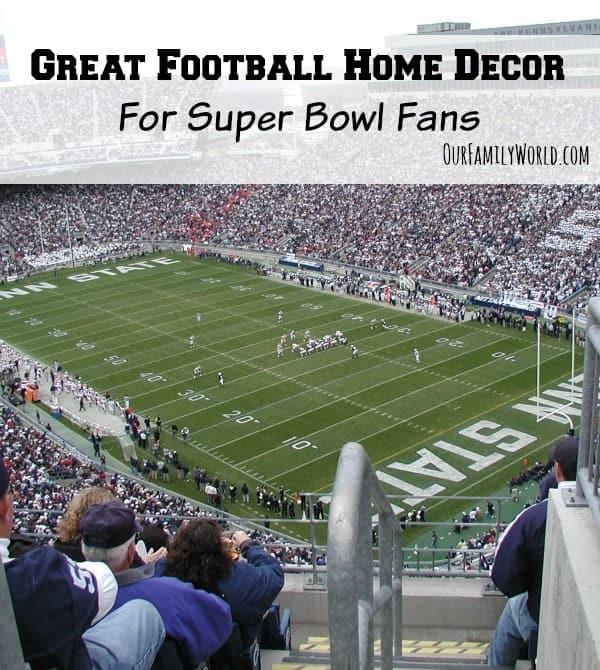 Great Football Home Decor For Super Bowl Fans