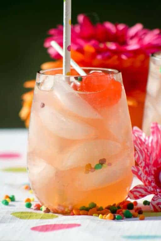 Tropical Strawberry Lemonade Summer Drink Recipe For Kids
