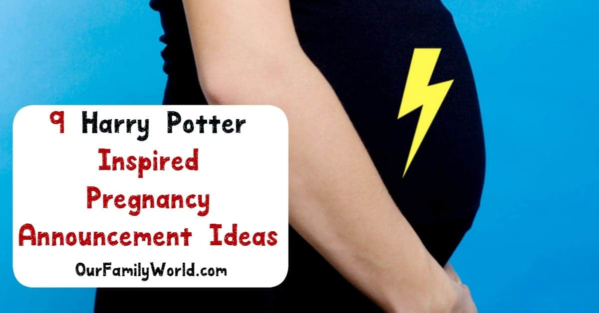 Harry Potter Pregnancy Announcement Ideas That Are Just