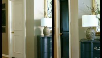 Thinking of Painting Your Interior Doors Black Design Thoughts  Should All Interior Doors Match    Our Fifth House. Interior House Doors. Home Design Ideas