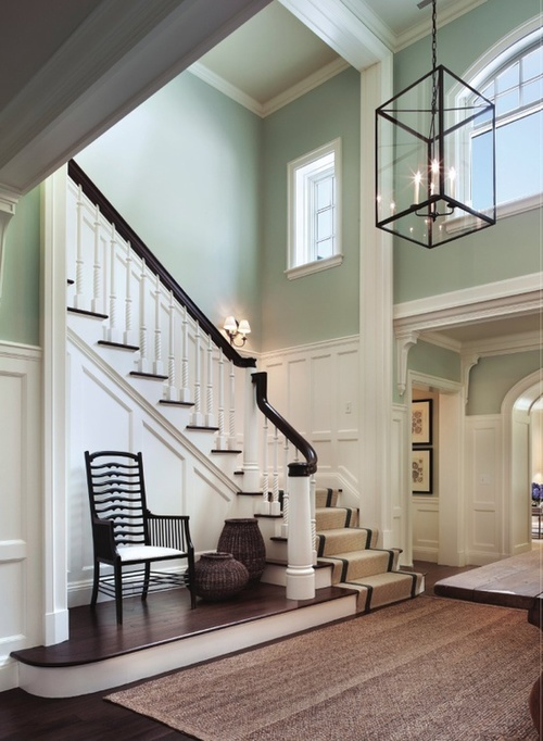 Two Story Foyer Or Not : Design dilemma decorating a two story entry foyer our