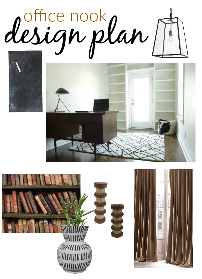 office nook design plan