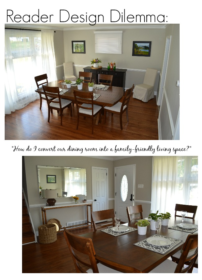 Design Dilemma Converting A Dining Room Into Living