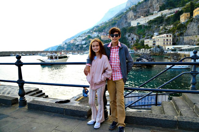 amalfi kids coast