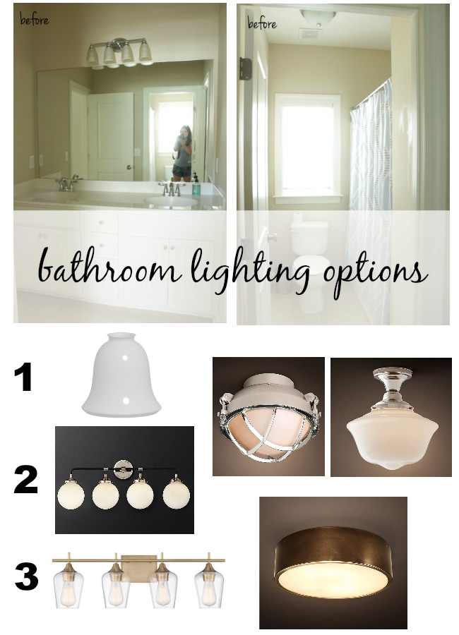 bathroom lighting options. ORC Week 3 \u2013 Bathroom Lighting Options