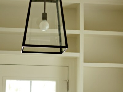 Office Nook – Lighting and Moulding