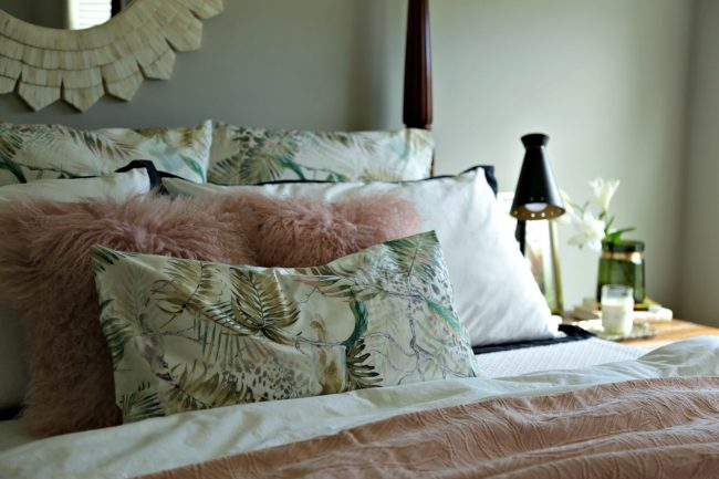 master bedroom - bedding remix - Our Fifth House