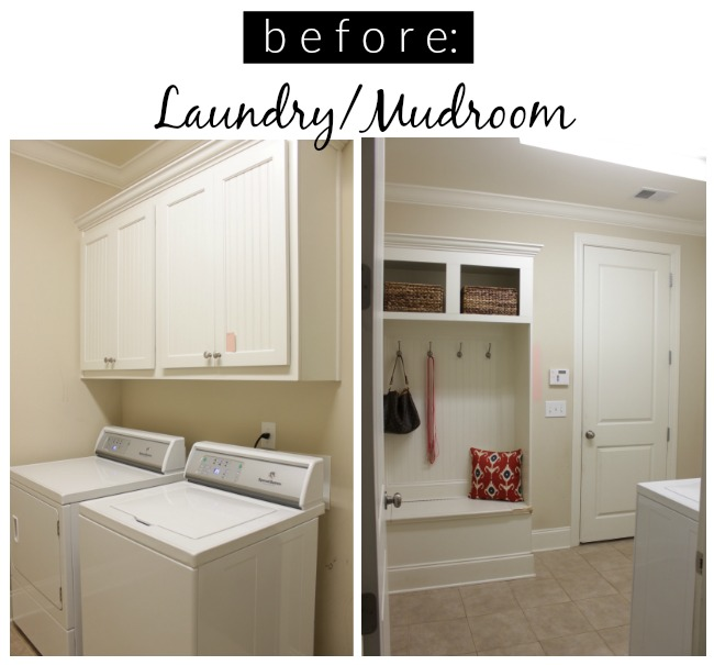 laundry mudroom before