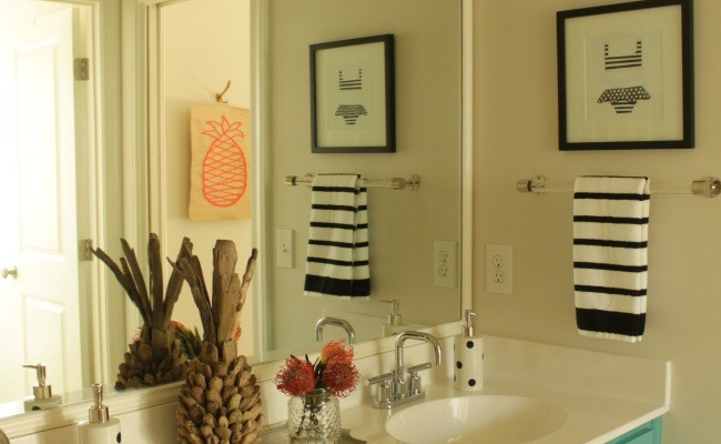 Girls/Guest Bathroom Makeover