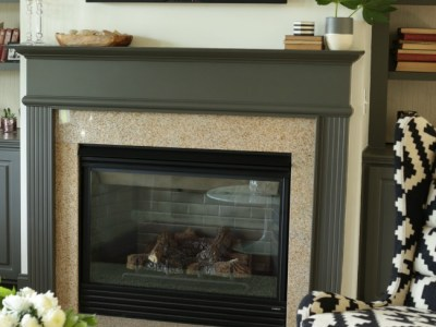 A TV Over The Fireplace….Design Yes or Major No-No?
