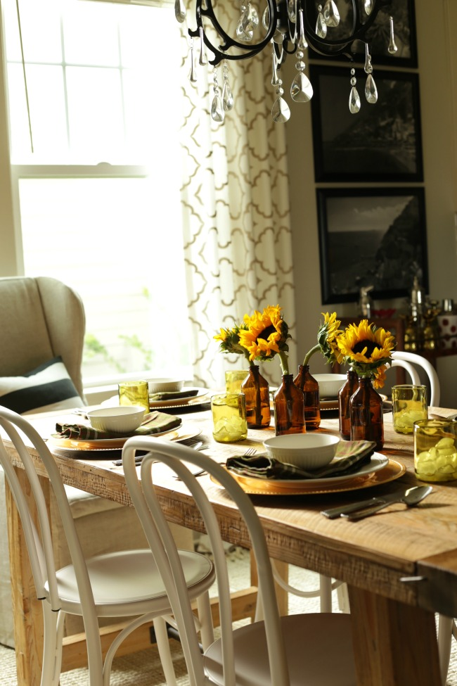 fall table home tour
