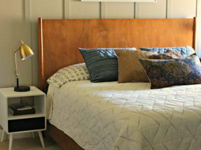 Teen Boy's Bedroom Makeover – One Room Challenge – Week 7
