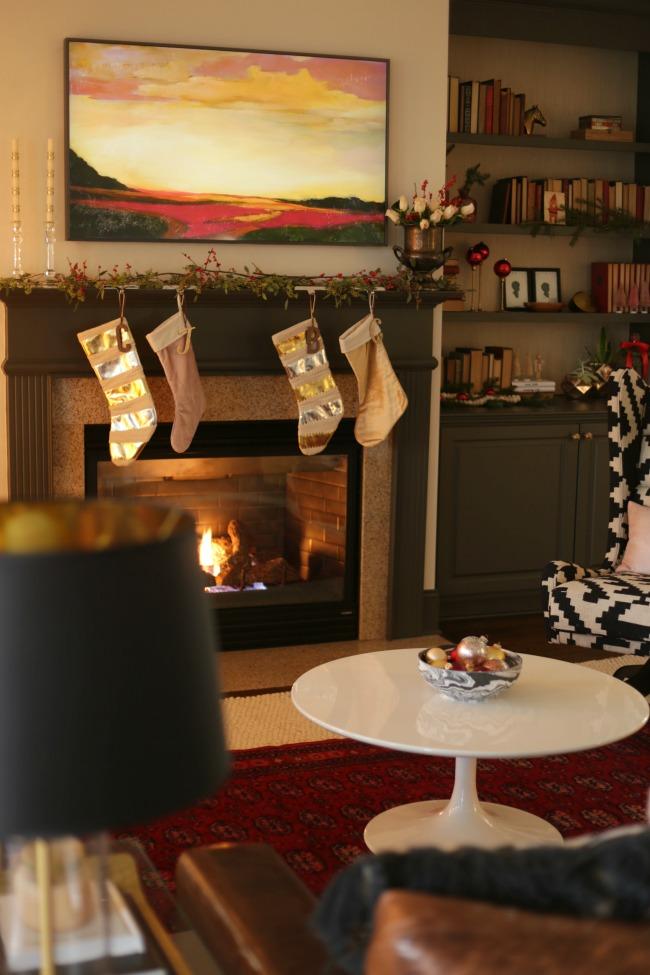 living room samsung frame