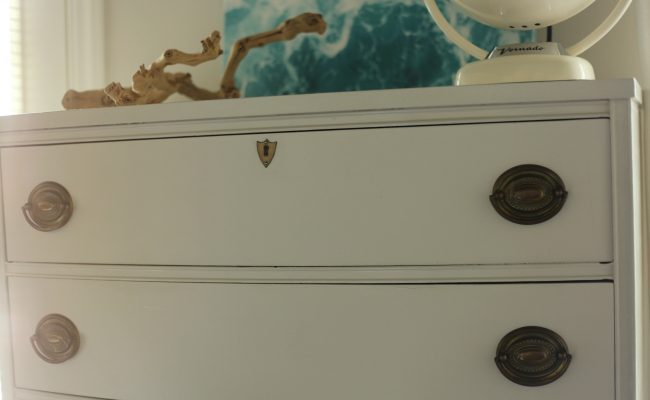 A Dresser Makeover & Musical Furniture Story