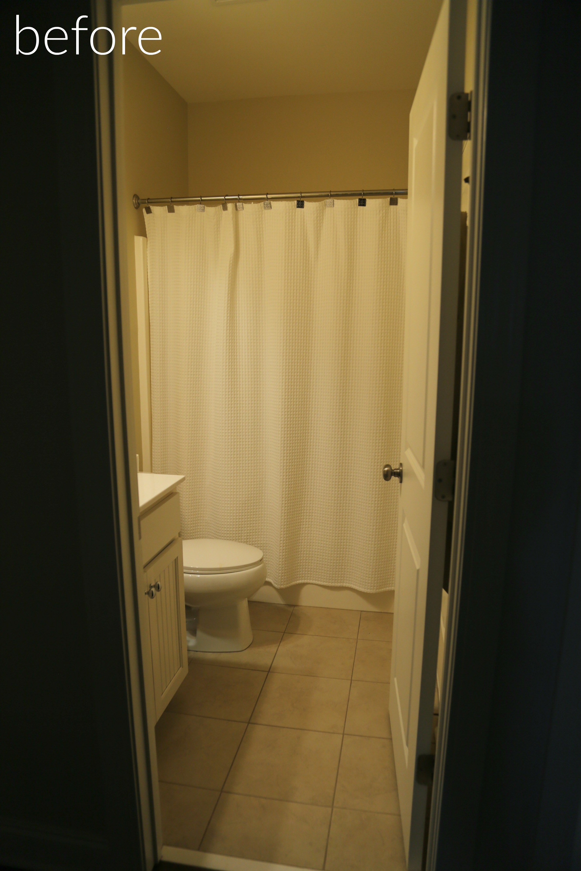 This Small Bathroom Is Connected To The Largest Extra Bedroom In The House  (which Is Currently My Teenage Sonu0027s Room). Hereu0027s A Peak At His Room, ...