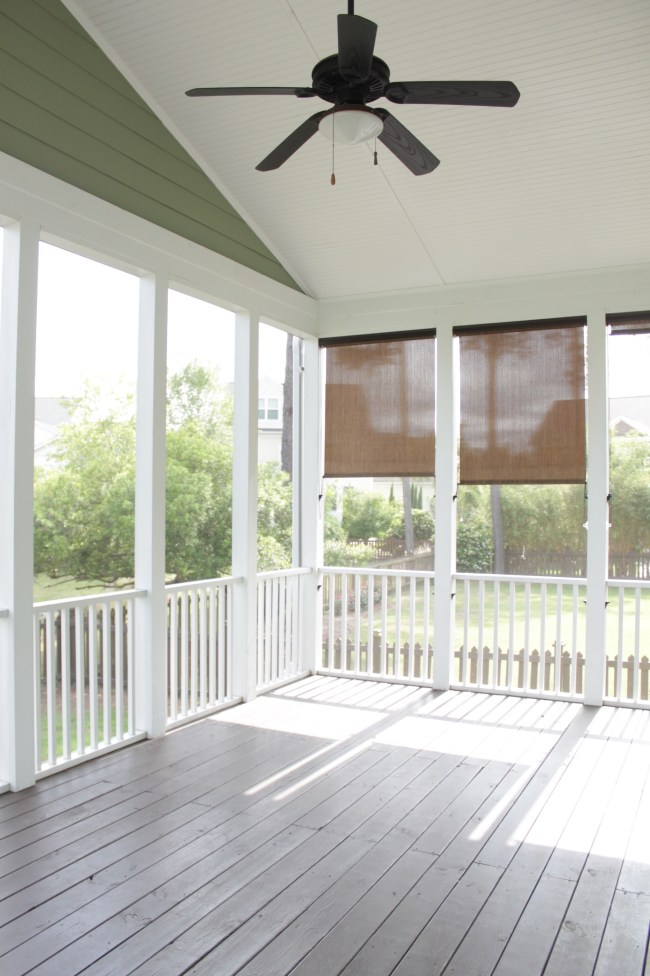 Screen Porch Floor To Paint Or Stain Amp What Color Our