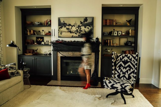 Halloween Living Room Decor