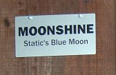 Horse Stall Sign Closeup