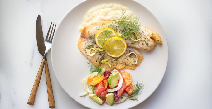 Complete Fish Dinner – An Under 60 Minute Meal {Paleo}