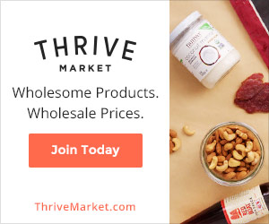 Thrive Market Affiliate Paleo Banner