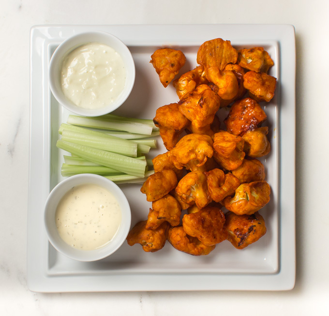 Paleo Buffalo Cauliflower Bites