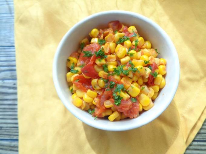 Easy Corn Relish by Leshe Style