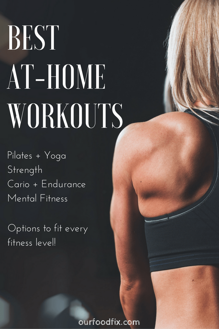 A detailed rundown of the Best At Home Workouts + Where to Find Them. Including options and suggestions to personalize your routine. Fitness   FIt Life   Exercise   Workouts   At home workouts   Personalized fitness   Quick workouts   No equipment workouts   Pilates and Yoga   Cardio and Endurance   Mental fitness   Mindfulness   Meditation