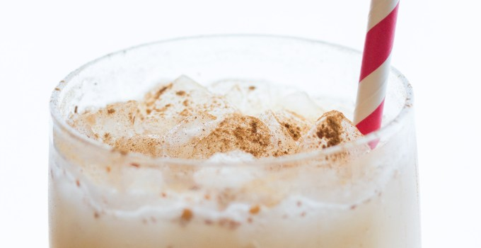 Holiday Cocktail: Skinny Spiked Cider Cream