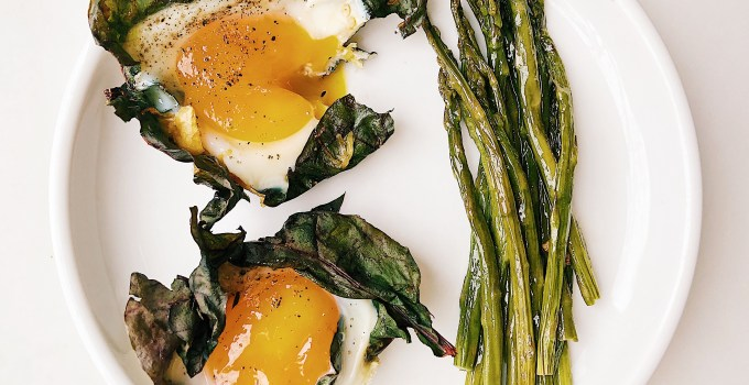 Greens + Squash Egg Cups {Whole30 + Vegetarian}