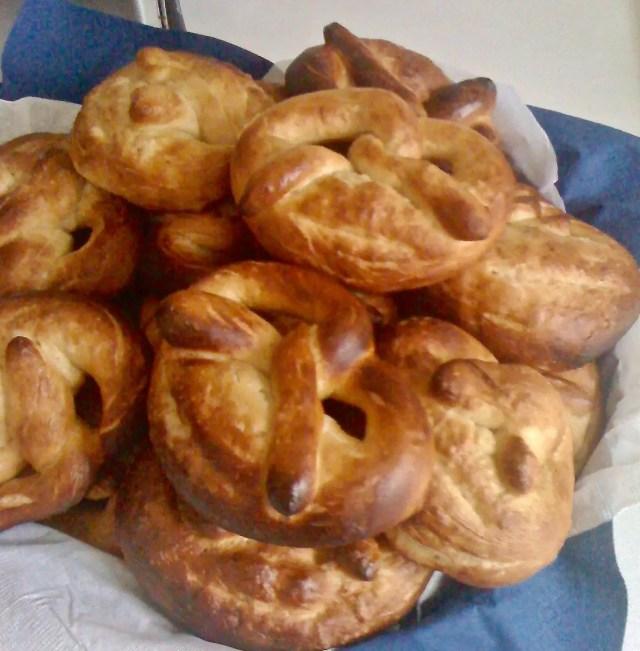 first attempt German pretzels