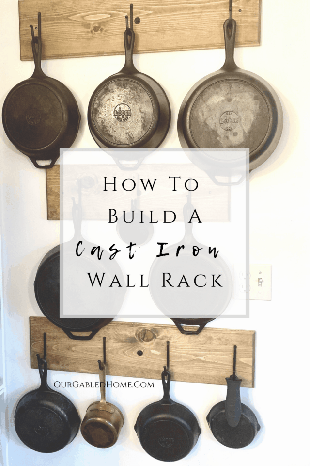 How to build a Cast Iron Wall Rack