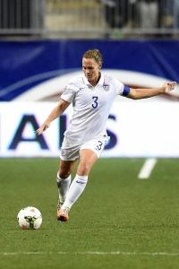 Christie Rampone, defender for the U.S. Women's National Team