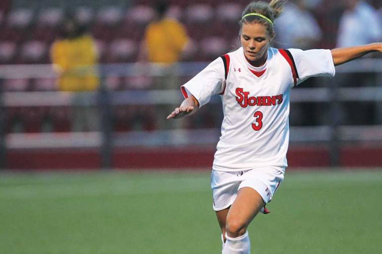 rachel daly playing for st johns