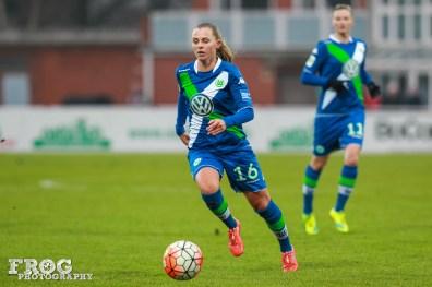 Wolfsburg's Noëlle Maritz.