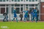 Wolfsburg celebrates its second goal.