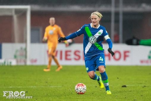 Wolfsburg's Nilla Fischer.