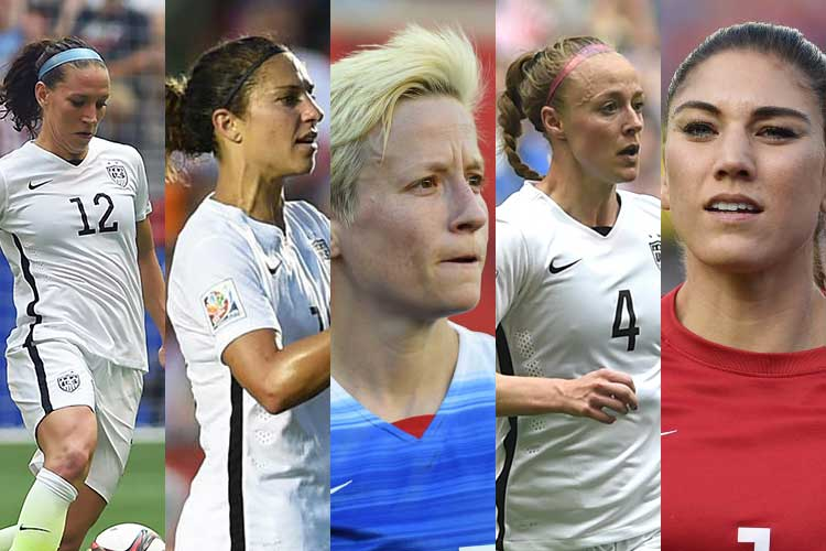 2015 us soccer nominees for player of the year
