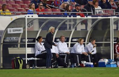 Fashun. Germany head coach Silvia Neid