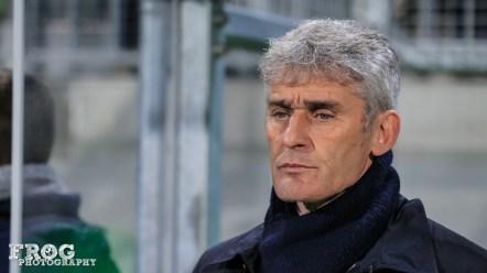 Gérard Prêcheur, OL's coach.