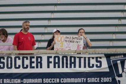 Supporter problems (Shane Lardinois).